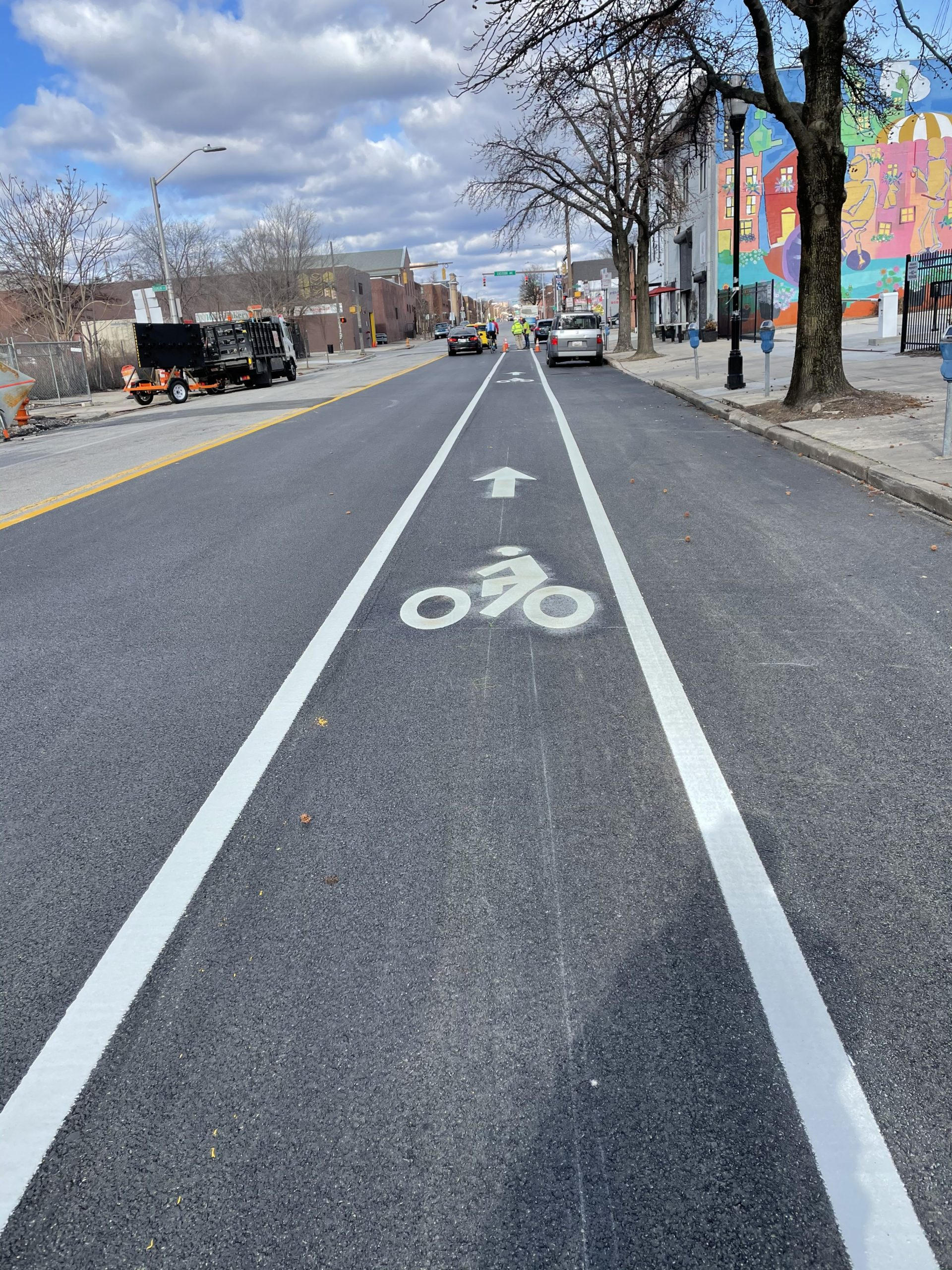 Types of Road Markings for Cyclists