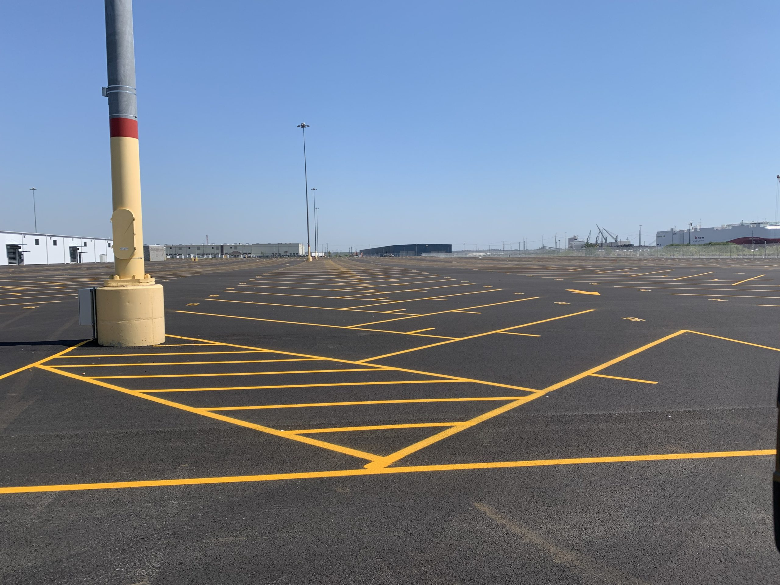 The Parking Lot Striping Process