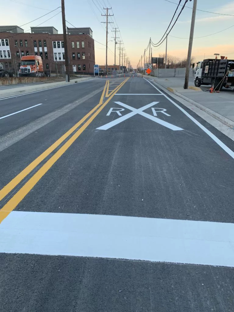 Thermoplastic Road Paint and Winter Conditions